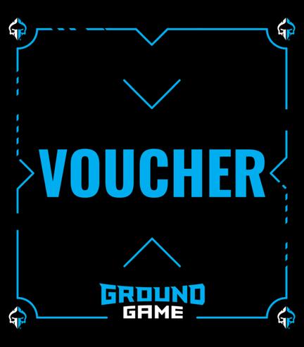 Dárkový poukaz  Ground Game 813Kč