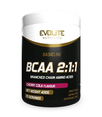 Evolite BCAA 2:1:1 400g, Cherry Cola
