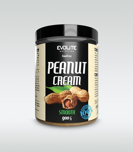 Evolite Peanut Cream Smooth 900g