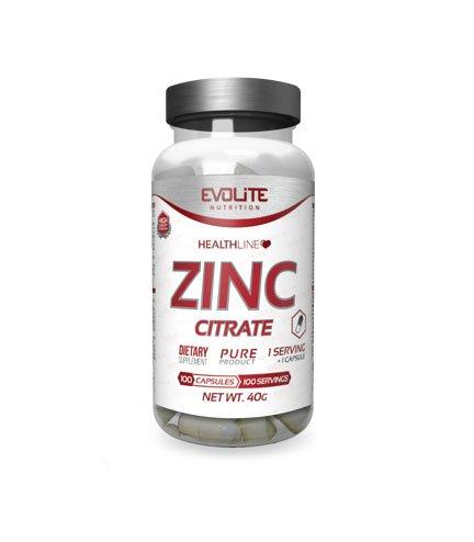 Evolite ZINC CITRATE 100 caps
