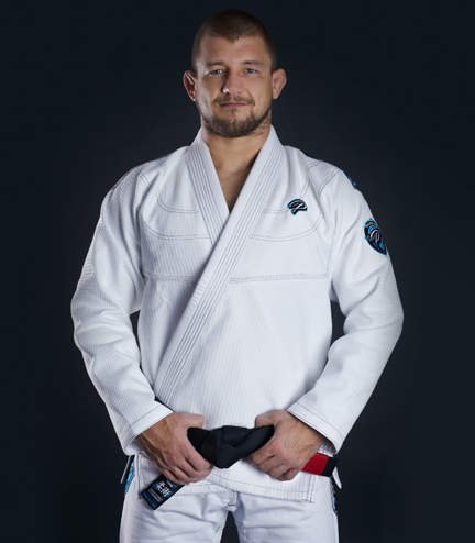 "Kimono Gi BJJ Ground Game ""Player"" (Bílé)"