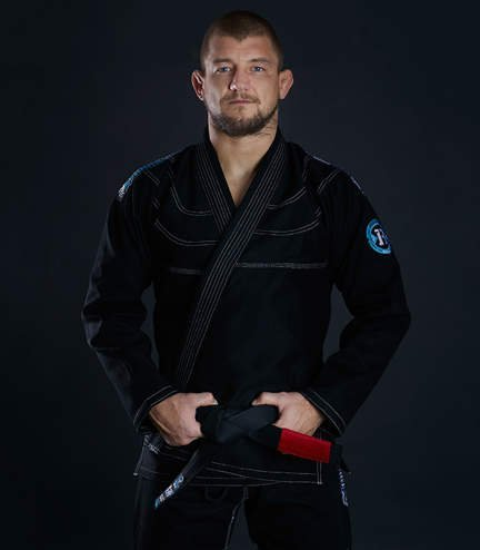 "Kimono Gi BJJ Ground Game  ""Rookie"" (Černé)"