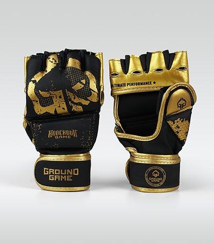"Rukavice MMA Ground Game ""Cage Gold"""