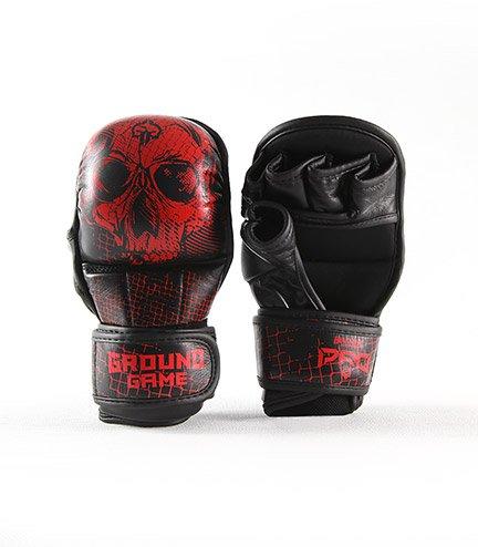 """Tréninkové rukavice Ground Game MMA PRO """"Red Skull"""""""