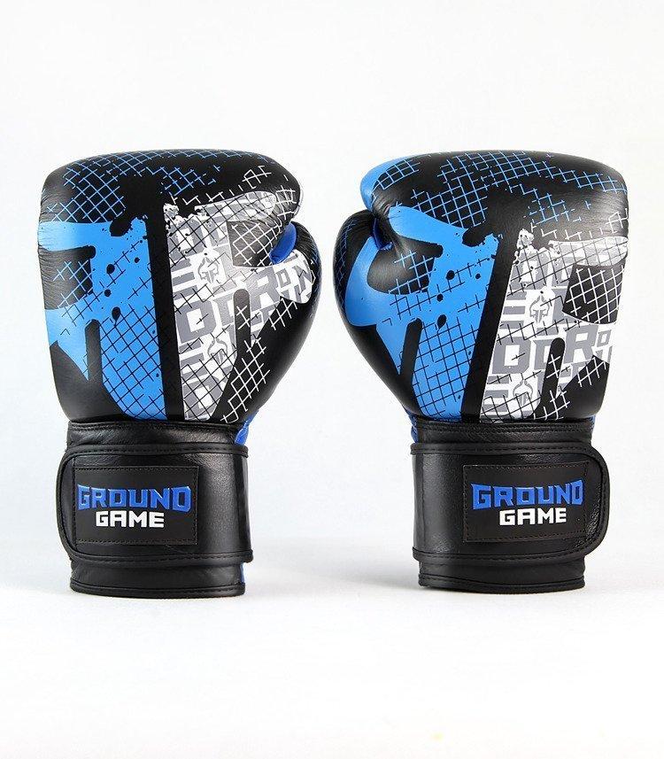"""Boxerské rukavice PRO Ground Game """"Cage"""" 12 oz"""