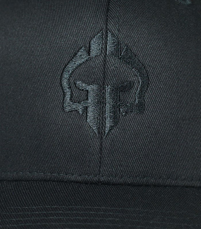 "Dětská kšiltovka Ground Game ""Logo Shadow"" Černá"