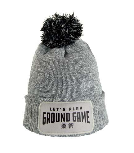 """Zimní čepice """"Ground Game"""" šedá"""