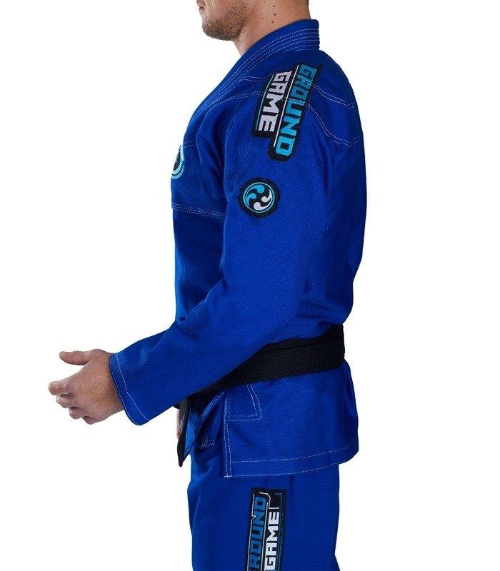"Kimono Gi BJJ  Ground Game ""Balance 2"" (Modré)"