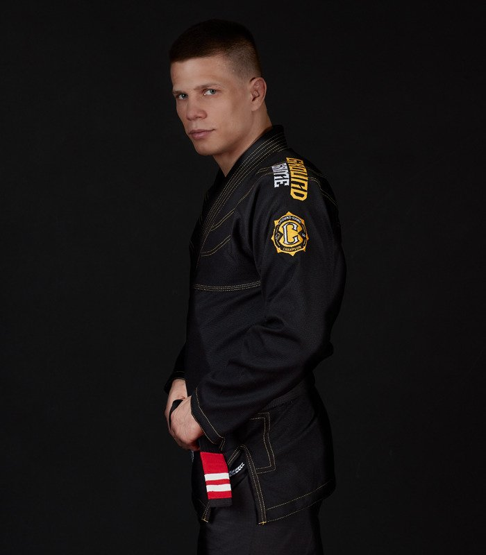 "Kimono Gi BJJ Ground Game ""Champion 2.0"" (Černé)"
