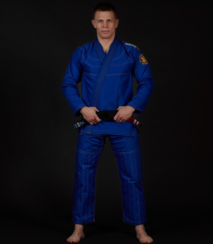 "Kimono Gi BJJ Ground Game ""Champion 2.0"" (Modré)"