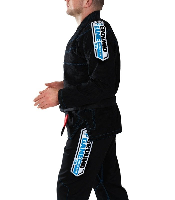 "Kimono Gi BJJ Ground Game  ""Inceptor 3.0"" (Černé)"