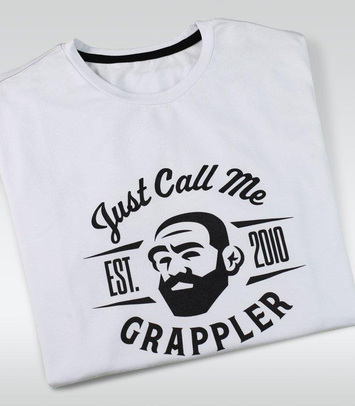 """Pánské tričko Ground Game """"Grappler"""" bílá"""