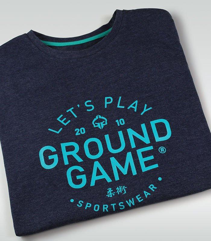 """Pánské tričko Ground Game """"Select"""" Námořnické Melange"""