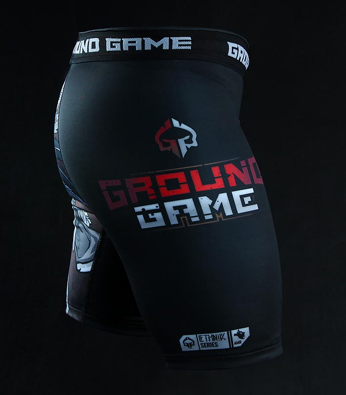 "Kraťasy Vale Tudo Ground Game ""Indian Skull"""