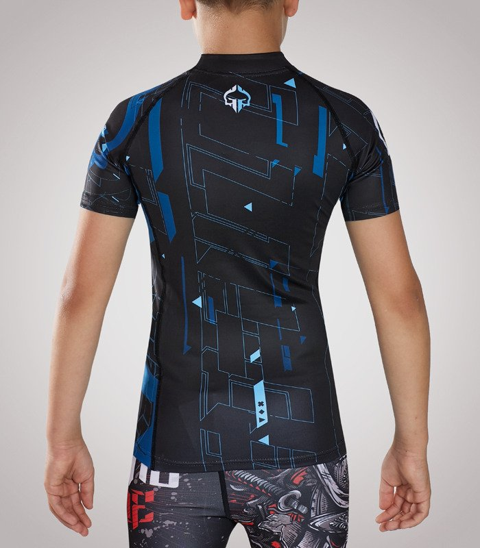 "Rashguard  Ground Game ""Shapes Kids"""