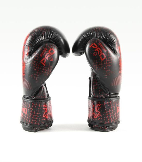 "Boxerské rukavice PRO Ground Game ""Red Skull"" 16 oz"
