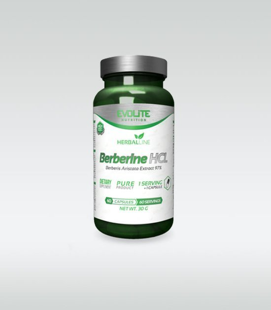 Evolite Berberine HCL 400mg 60 caps