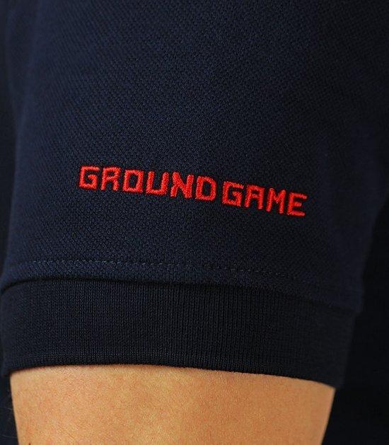 """Ground Game polokošile """"Jiteiro"""" Tmavě modrá"""