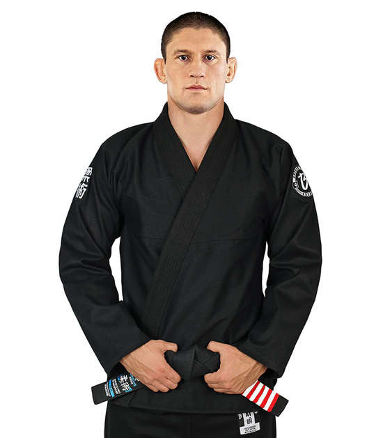"Kabátek od kimona Gi BJJ  ""Breaker"" (Černé)"