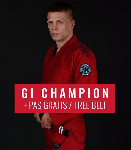 """Kimono GI BJJ Ground Game  """"Champion 2.0"""" (Červené) + pásek ZDARMA"""