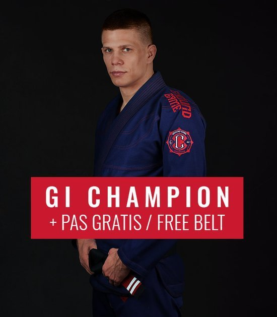 "Kimono GI BJJ Ground Game  ""Champion 2.0"" (Tmavě modré) + pásek ZDARMA"