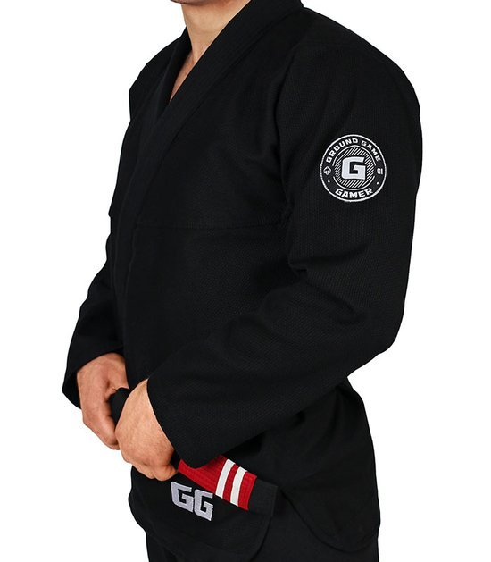 "Kimono Gi BJJ Ground Game ""Gamer"" Černé"