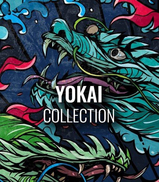 """Kolekce Ground Game  """"Yokai"""""""