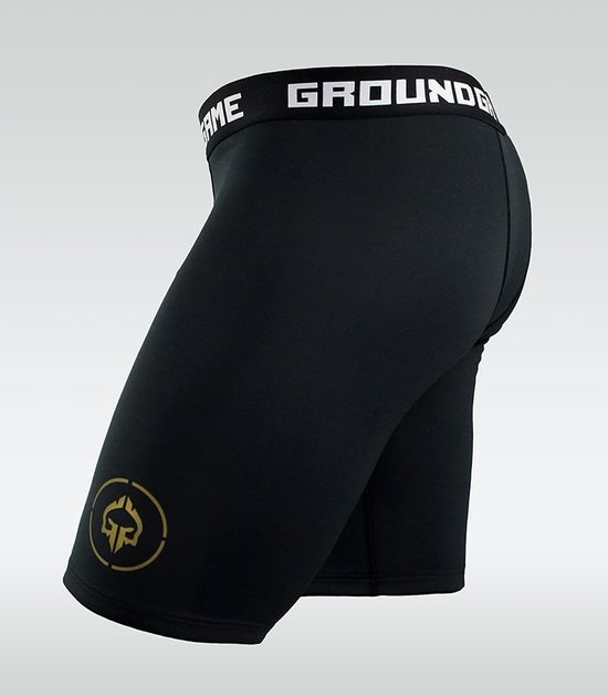 "Kraťasy Vale Tudo Ground Game ""Athletic Gold"""