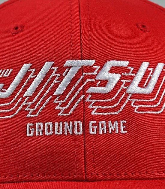 """Kšiltovka Ground Game """"Jitsu"""" Červená"""
