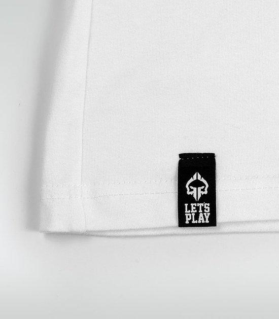 """Pánské tričko Ground Game """"Jitsu"""" bílé"""