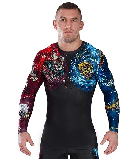 "Rashguard Ground Game ""Bushido II"" (Černý)"
