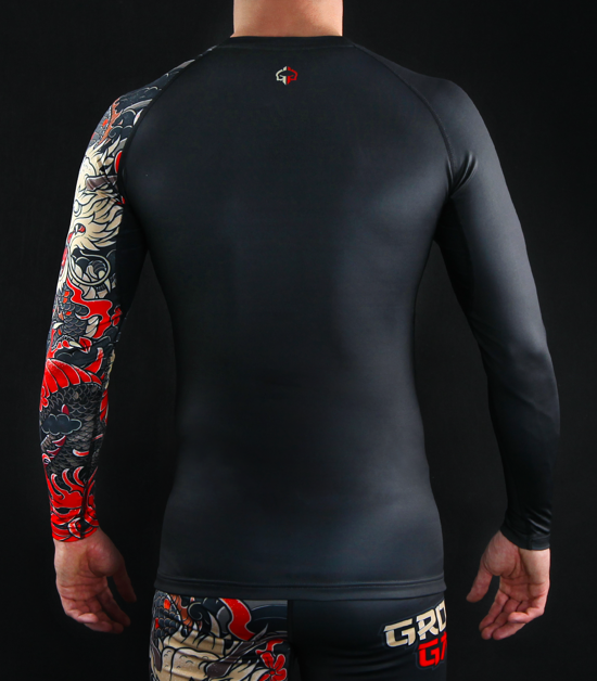 "Rashguard  Ground Game ""Yokai 2.0"""