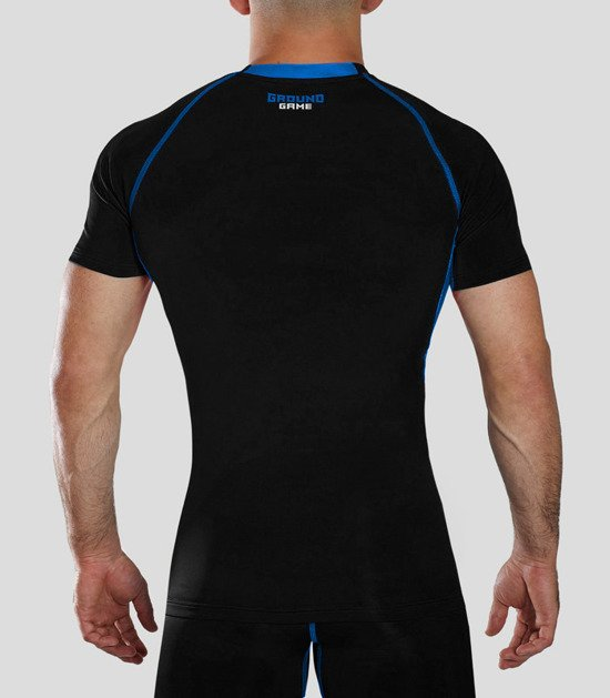 "Rashguard ""Athletic"" short sleeve (Black)"