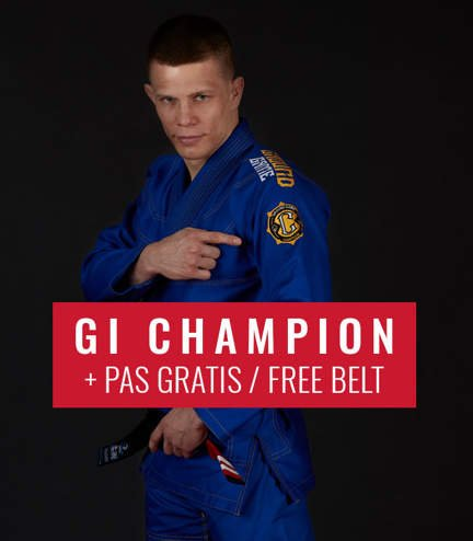 "BJJ GI ""Champion 2.0"" (Blue) + FREE Belt"