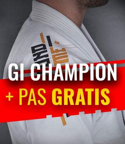 """BJJ GI """"Champion"""" (White) + FREE Belt"""