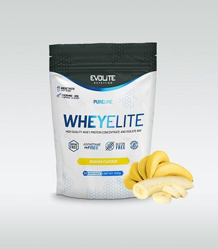 Evolite WheyElite 900g, Banana