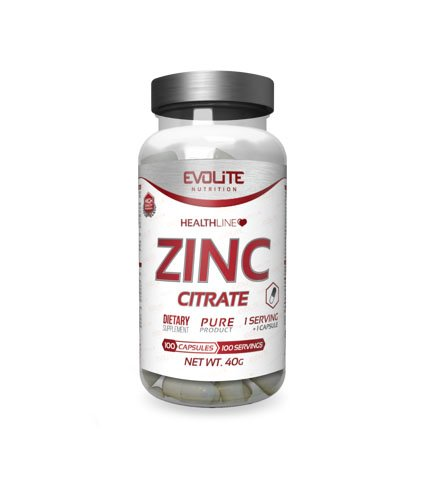 Evolite ZINC CITRATE 100 caps