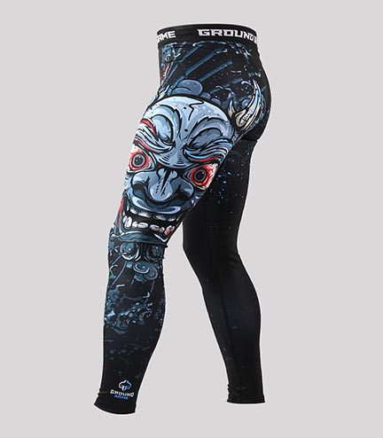 "Leggings ""Oni Black"""