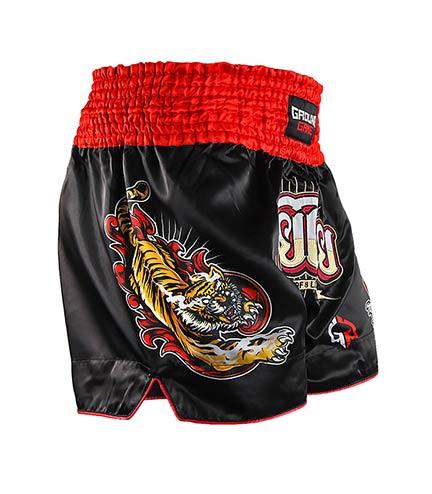 "Muay Thai Shorts ""Red Tiger"""
