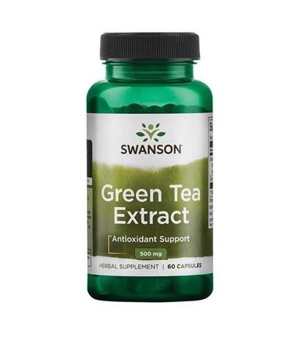 Swanson Green Tea Extract 60 kapsułek 500mg