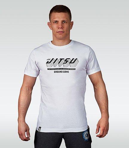 """T-shirt """"Jitsu"""" White"""