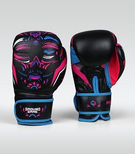 "Women's Boxing Gloves ""La Muerta"" 14 oz"