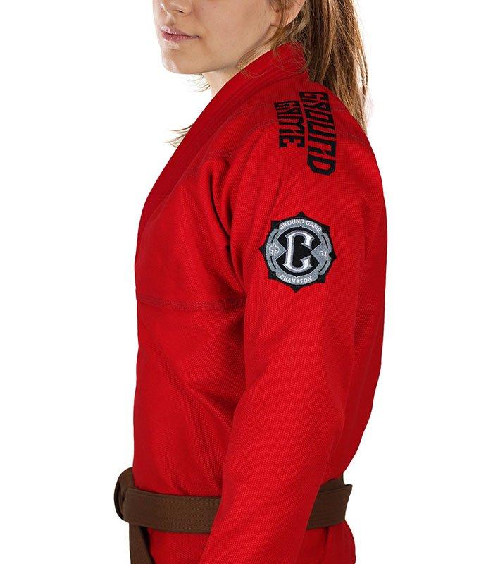 "BJJ Women`s GI ""Champion 2.0"" (Red)"