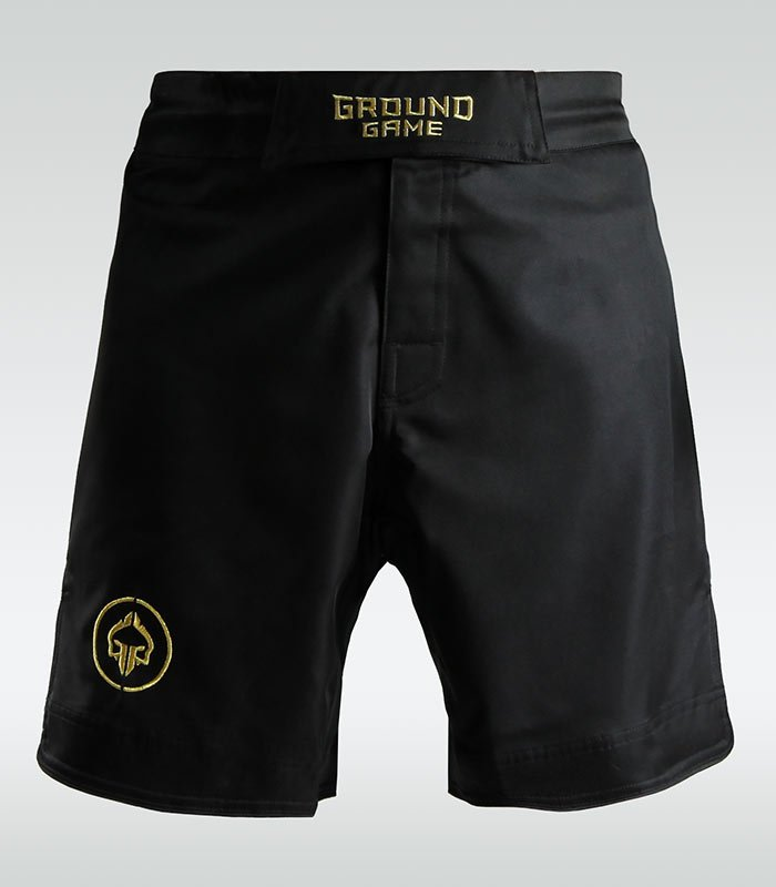 "MMA Shorts ""Athletic Gold"""