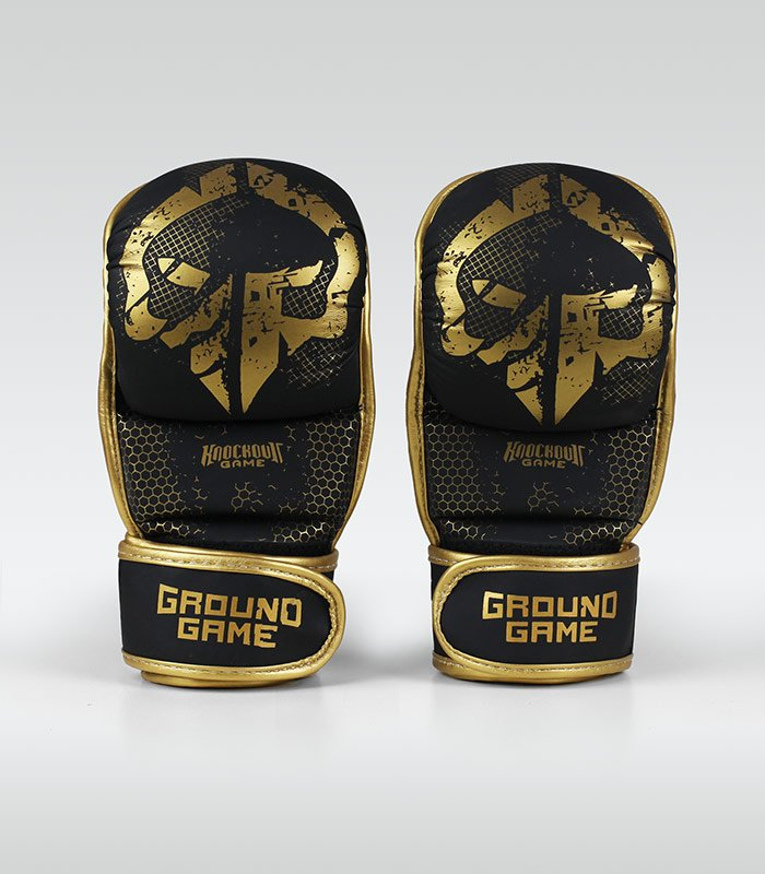 "MMA Sparing Gloves ""Cage Gold"""