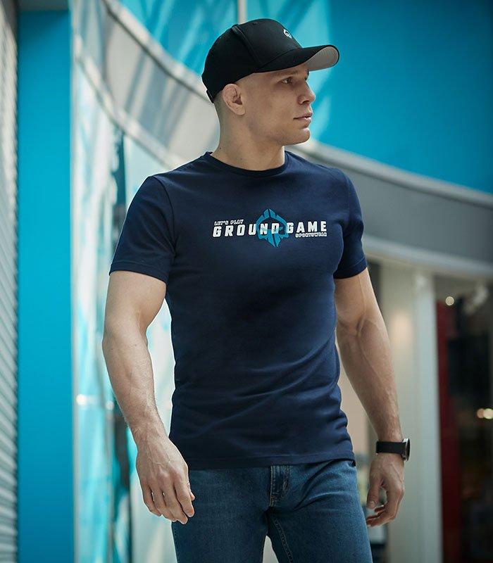 """T-shirt """"Elegant"""" Navy"""