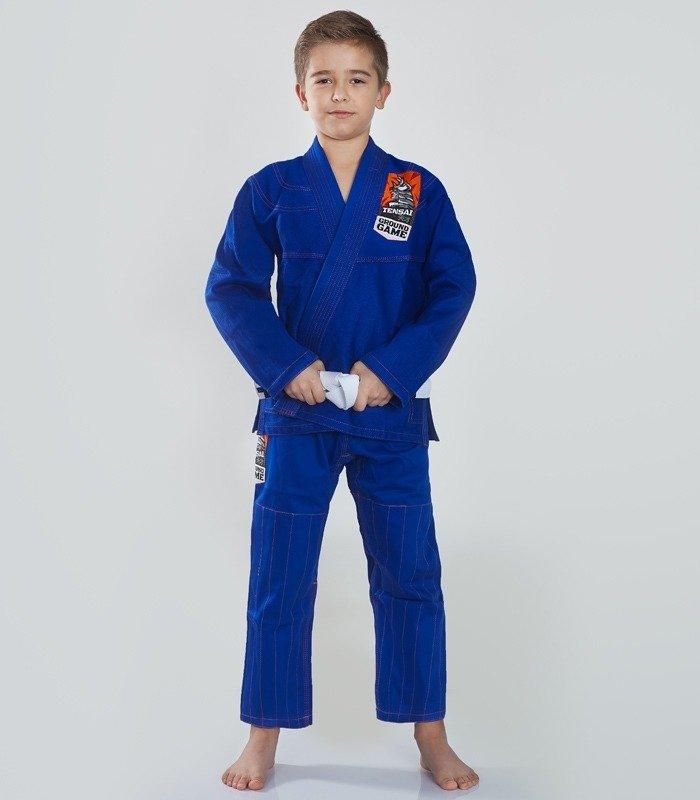 """""""Tensai"""" BJJ Kids GI (Blue) + FREE Belt"""