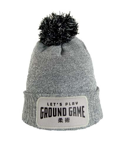 "Winter Hat ""Ground Game"" Grey"