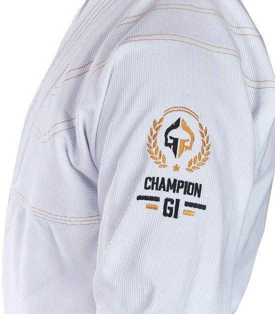 """BJJ GI """"Champion"""" (White)"""