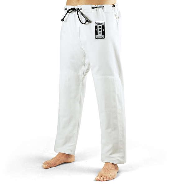 """BJJ GI Pants """"Breaker"""" White"""